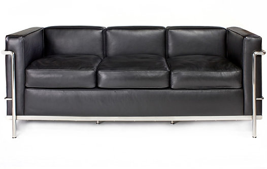 Le Corbusier LC3 Grand Confort 3 Seater Sofa
