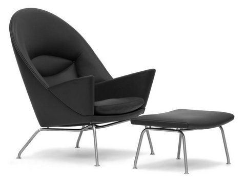Oculus Chair and Ottoman