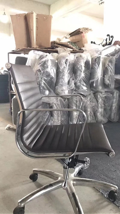 Eames Style Aluminum Group Office Chair