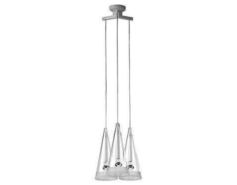 fucsia 3 suspension lamp
