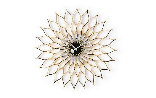 Nelson Sunflower Wall Clock