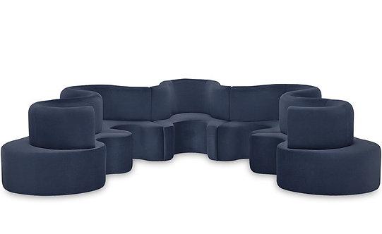 Panton Cloverleaf Sofa