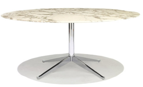 Florence Knoll Oval Table-Large