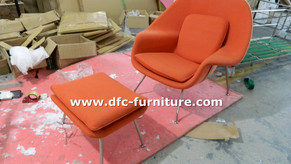 Womb Lounge chair and Ottoman Reproduction exporting to Australia
