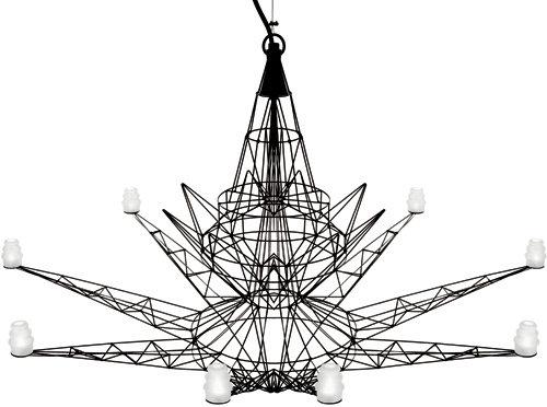 Lightweight Suspension Lamp