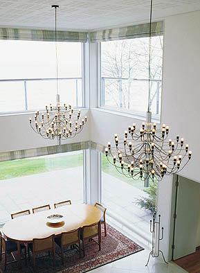 Sarfatti 2097 Type Suspension Lamp