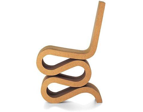 Wiggle Chair Cardboard Chair
