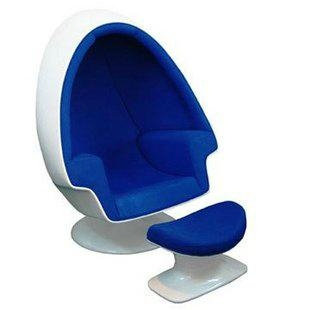Lee West Stereo Alpha Egg Pod Speaker Chair