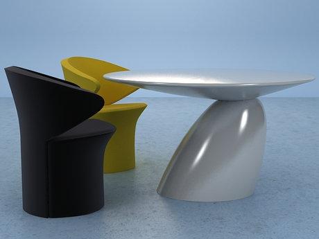 Parabel Dinner Table