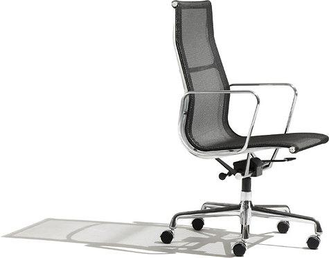 Eames Aluminum Group High Back Mesh Chair