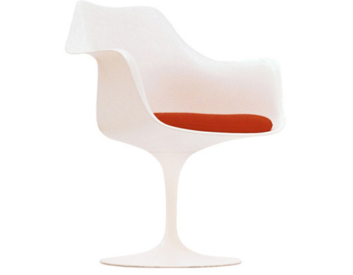 ... Finnish Born Eero Saarinen Sought Out The Essential Idea And Reduced It  To The Most Effective Structural Solution. He Designed The 1956 Tulip Chair  In ...