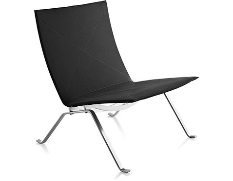 Pk22 Lounge Chair Leather