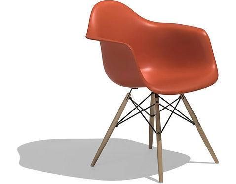 Charles & Ray Eames®-eames® Molded Plastic Armchair - Dowel Leg