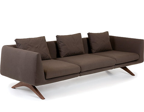 Hepburn Fixed 2-Seater Hippo Sofa