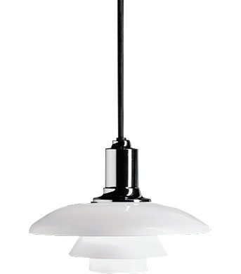 ph 2/1 pendant lamp