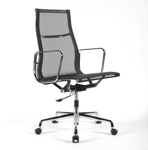 Eames Aluminum Group - Side Chair High Back- Mesh