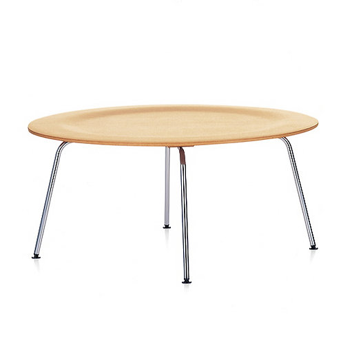 Charles Eames Coffee Table with Metal legs