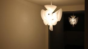 Swiss Customer photo of our Nebula style Lamp