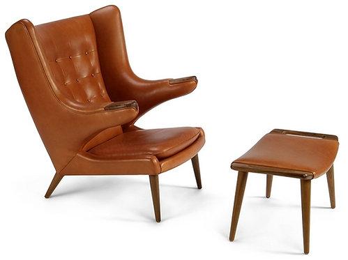 Hans J Wegner Papa Bear Chair- Teddy Bear Chair
