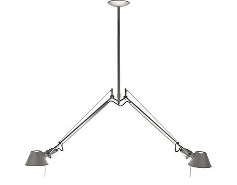 Tolomeo Double Suspension Lamp