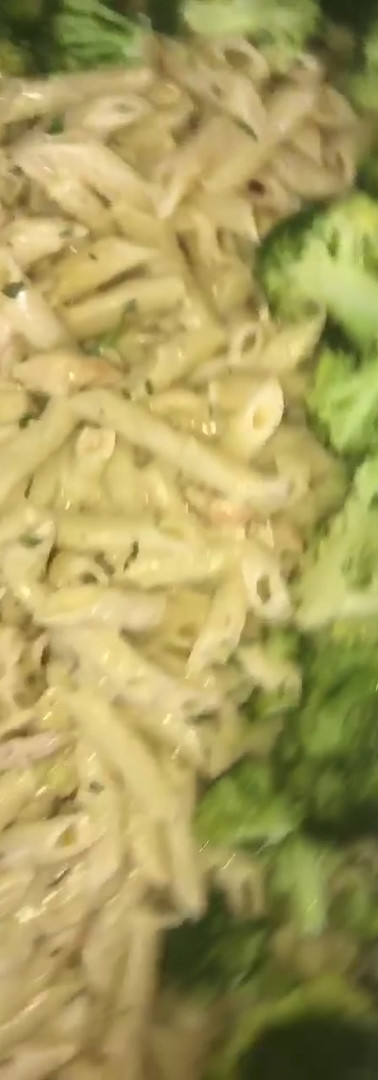 Chicken Ziti Broccoli Alfredo