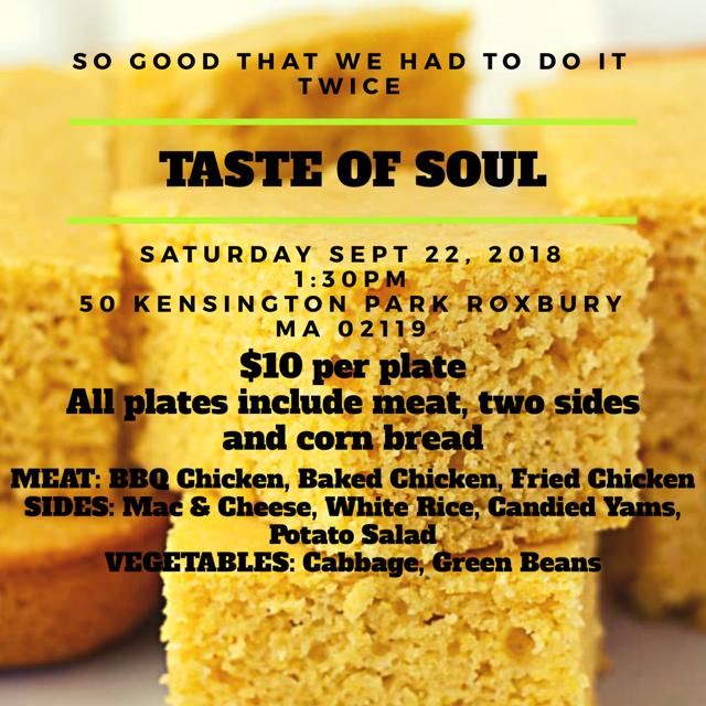 Soul Food Dinner Sale
