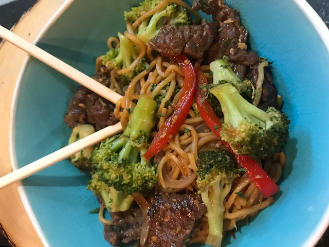 Beef & Broccoli Teriyaki