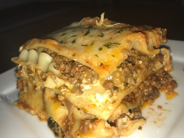 Meat sauce Lasagna
