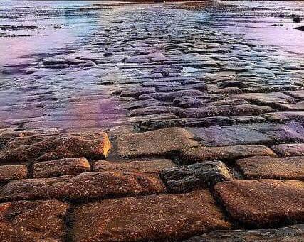 Breaking news...innkeeper walks on water!
