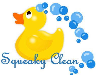 Squeaky Clean yellow rubber duck