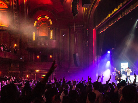 Hillsong Worship in old Dominion Theatre
