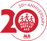 Logo for Tallahassee Walk ALS
