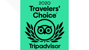 We earned the 2020 Travelers' Choice Award!