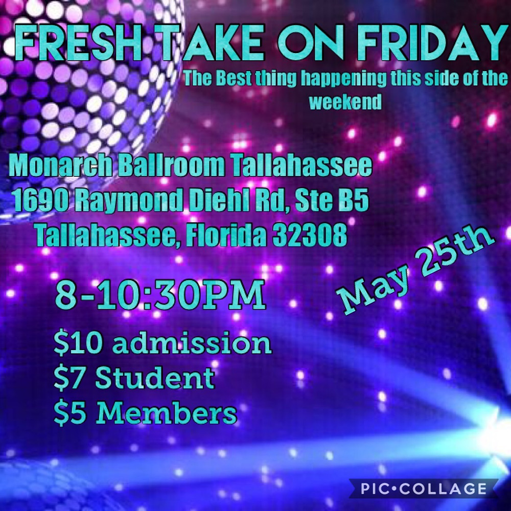 Dancing in Tallahassee flyer