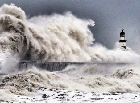 Vast, untamed sea - captivating to watch..