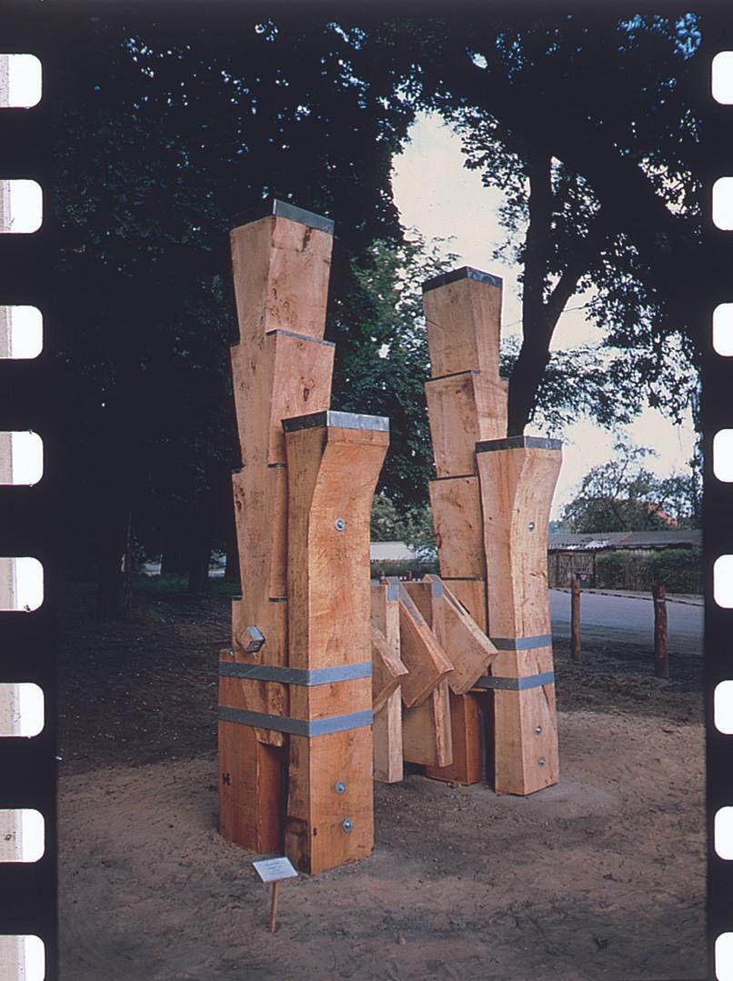 """Ecolog"" wood , metal  Lhenin -Germany"