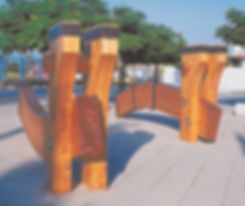 wood arch ganei tikva