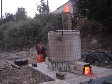 The ceramic oven