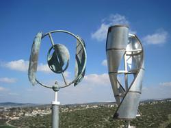 wind vane h-100cm cupper