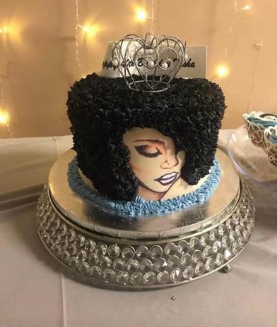 Black Queen Cake