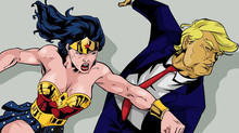 Wonder Woman vs. Trump