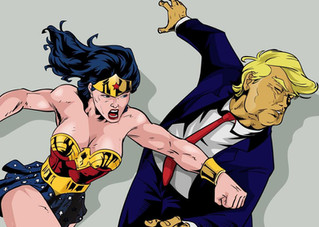 Wonder Woman vs. Trump