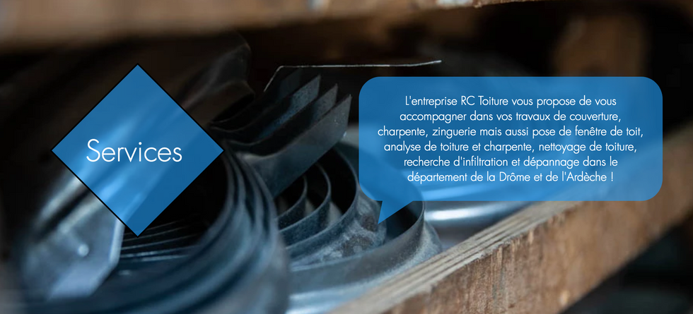 services Rc toiture