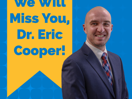 Dr. Eric Cooper's Letter to His Patients