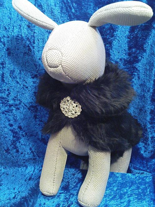 Marilyn Fur Coat Black