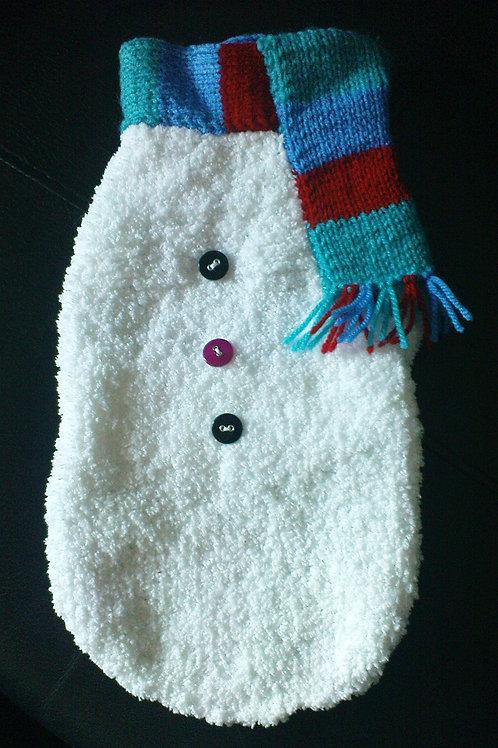Snowman Hand Knitted Jumper