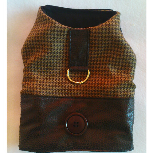 Dogtooth Check Harness