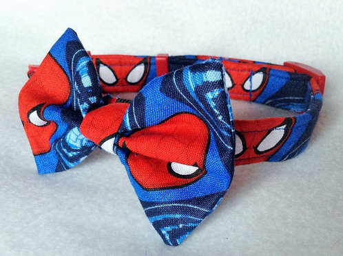 Spiderman Bow Collar