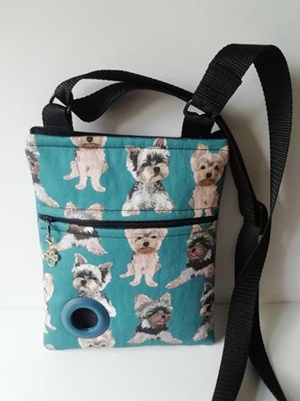 Yorkshire Terrier Dog Walking Bag