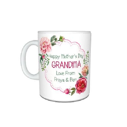 Pretty Grandma Mug